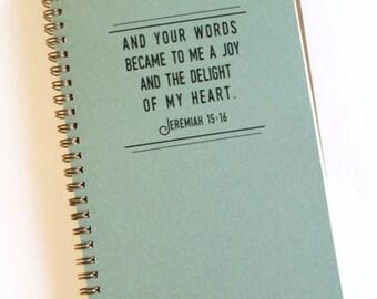 Blank Jeremiah Journal