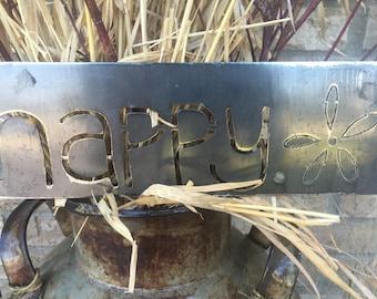 Happy. Sign