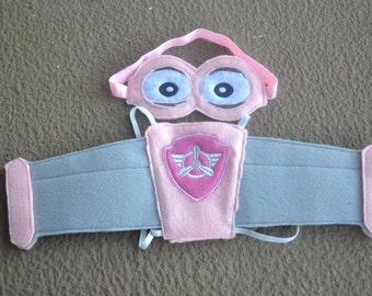Paw Patrol Skye Inspired Wings and Headband