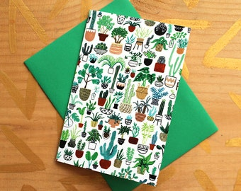 Plant Party Card