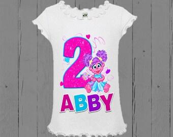 Abby Cadabby Birthday Shirt - Confetti Design