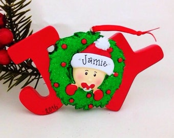 FREE SHIPPING New Baby Personalized Christmas Ornament - Baby's 1st Christmas Ornament / Baby's First Christmas Ornament / New Baby Ornament