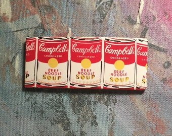 Andy Warhol Soup Can Magnet