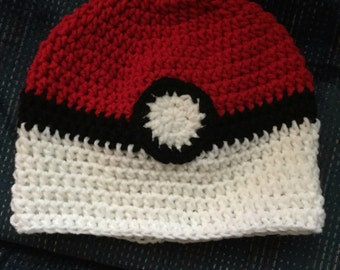 Crochet Poke'-ball hats