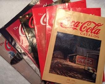 Coca Cola - 15 memorabilia catalogs - 1995 -1997
