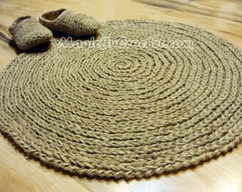 Runder wollteppich  Natürliche runde teppich | Etsy