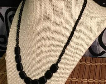 Stealth - Handmade Beaded Necklace
