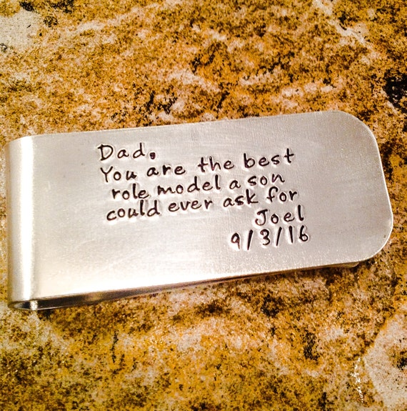 Wedding Gift For Dad From Son : Wedding gift for Dad, Gift from son to Dad, Dad Money Clip