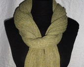 Musk Green Long Scarf - Icelandic Production