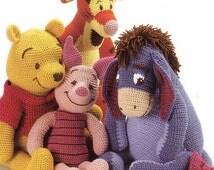 Winnie The Pooh Amigurumi Tutorial : Popular items for vintage crochet on Etsy