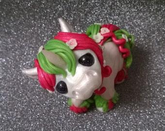ooak baby unicorn sculpture