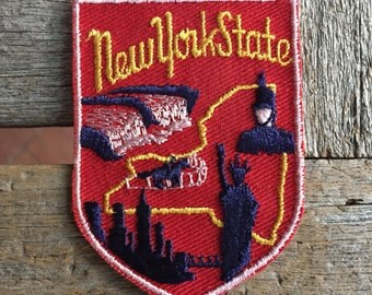 New York State Travel Patch by Voyager