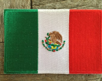 Mexico Flag Souvenir Travel Patch