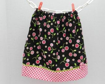 Cheery Black and Pink Skirt