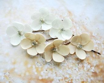 Bridal hair pins, Bridal hair accessories, Wedding Hair pins , Wedding Hair Piece , Bridal headpiece, Bridal hair piece ,Flower hair pins