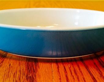 Vintage Pyrex Baking Dish in Horizon Blue