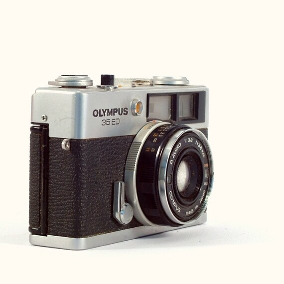 Vintage Camera Olympus Quickmatic EEM with 36mm Lens for 35mm |Olympus Vintage Camera