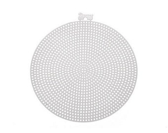 Circle-Shaped Plastic Canvas - 4 1/4in. - 8 Pieces/Pack (dar337815)