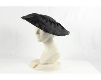 Black '50s hat
