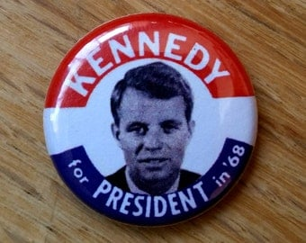 Robert Kennedy Genuine Imitation Campaign Button