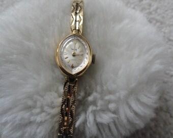 Sears 7 Jewels Vintage Wind Up Ladies Watch