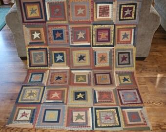 Liberty Star Quilt Top