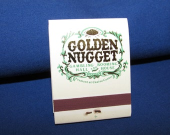 GOLDEN NUGGET MATCHES Las Vegas Matchbook Collection