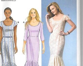 Butterick B5985 Misses Dress Pattern,