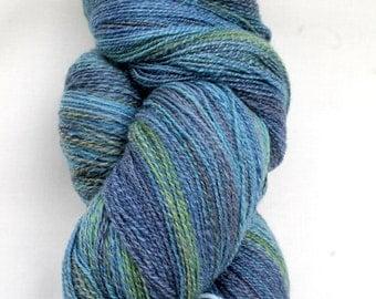 Merino Bamboo Silk lace handspun yarn