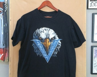 Vintage Harley Davidson T-Shirt Black 1993