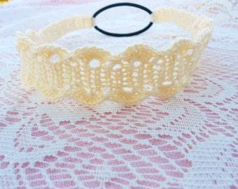 Ivory Headband - Ivory Women's Headband - Ladies Fashion Headband - Hair Band - Ivory Headband - Teen Hairband - Hair Band - Spring Headband