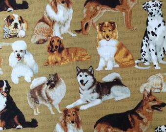Cotton Dog fabric