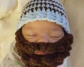 Custom sized bearded hat (Reserved for Sarahkue)