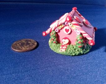 Miniature Candy Heart House