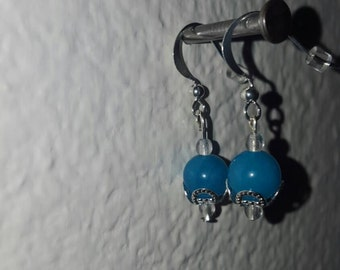 Turquoise Orbital Dangle Earrings