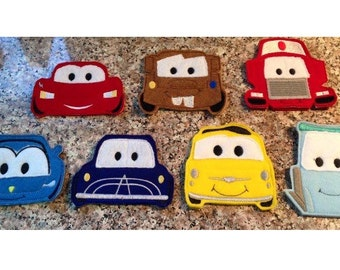 Cars Finger Puppets