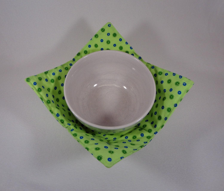 Microwave soup bowl cozy pot holder by vermontcottageworks on etsy