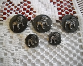 Mack Truck Bulldog Brass Buttons 5