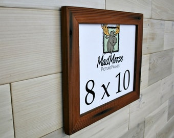 """8x10 Reclaimed Redwood [Thin x 1.25""""] Picture Frame"""