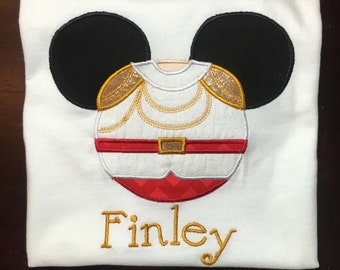 Personalized Charming Mouse with Name Shirt, Onesie, Romper or Dress
