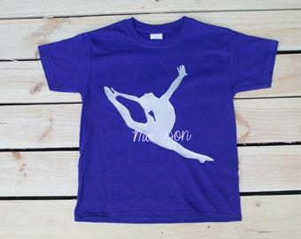Gymnastics Birthday Gymnastics Team Dancer Gymnastics Party Cheer Shirt Cheerleading Ballet Shirt