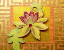 Beautiful Flower~ Post It Note Holders