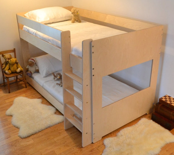 Low bunk bed 48 high for Beds 185cm long