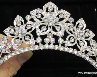 DIADEMA Crystal  for hair, for period dress, Venetian Carnival,