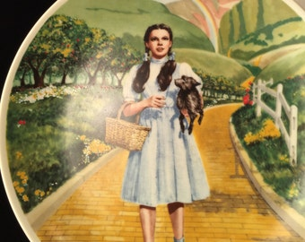 Wizard Of Oz Dorothy Knowles Fine China Collectors Plate 1977