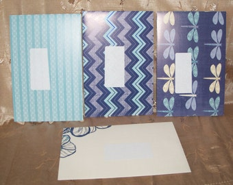 Handmade Envelopes Set of 4