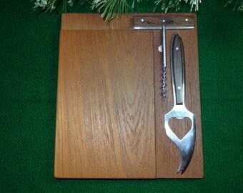 Galatix Hand Made Burma Teak Cheese Board / Cheese Board / Wood Cheese Board