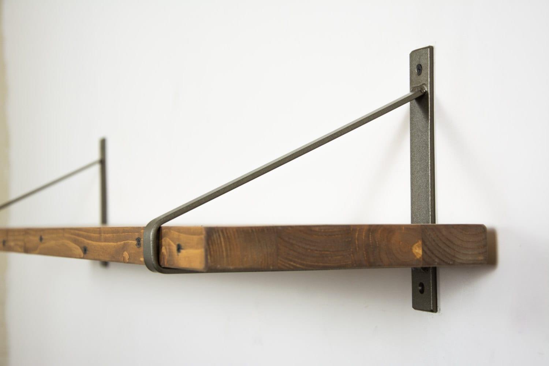 pair of brass steel brackets choose your size newest design brackets brass brackets shelf brackets steel brackets