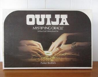 Vintage Parker Brothers Ouija Board Circa 1972