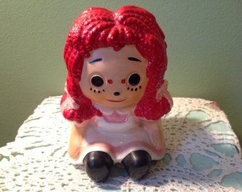 Raggedy Ann Planter Inarco Japan